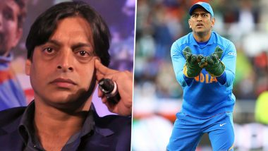 Shoaib Akhtar Reveals he Bowled Beamer Purposely to MS Dhoni During India Tour of Pakistan 2006