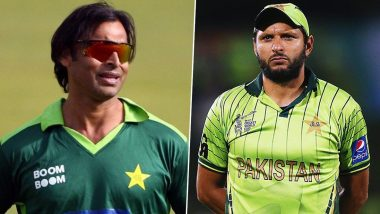 Shoaib Akhtar Trolls Shahid Afridi for Not Asking Him Directly