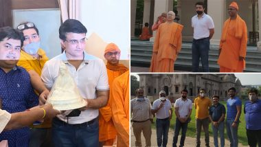 Sourav Ganguly Donates 2000kg Rice at Kolkata Belur Math to Help the Needy Amid Nationwide Lockdown
