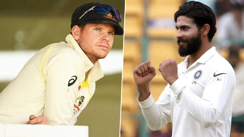 Steve Smith Calls Ravindra Jadeja a 'Difficult' Bowler to Face in Sub-Continent, Reveals 'Why He Is So Good'