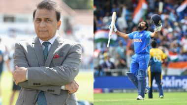 Sunil Gavaskar Lashes Out at Wisden for Excluding Rohit Sharma From Its List of Top Five Cricketers of 2019