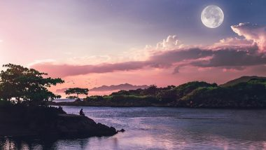 Super Pink Moon April 2020 Date & Live Streaming Time in IST: When and How to Watch the Biggest and Brightest Full Moon of the Year