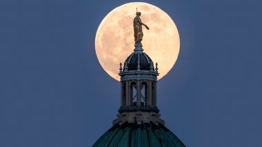 Pink Super Moon 2020 Photos: Pictures Capture The  Mesmerising Celestial Event