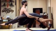 Sushmita Sen and Rohman Shawl Have a Romantic Work-Out Session During COVID-19 Lockdown (View Pics)