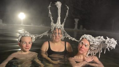 Canada's Takhini Hot Springs Hair Freezing Contest Winners' Names Revealed: See Funny Pictures of Contestants That Will Make Go LOL