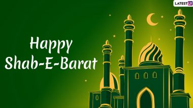 Shab-e-Barat 2020 Messages & Greetings: HD Images to Share on WhatsApp, Facebook, Instagram on Mid-Shaban