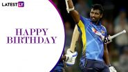 Thisara Perera Birthday Special: 5 Best All-Round Performances by Sri Lankan Cricketer