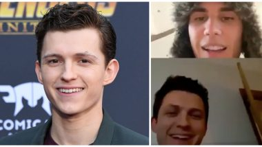 Tom Holland Makes a Surprise Appearance On Justin Bieber's Instagram Live Session As They Discuss Quarantine Life, Leave Fans Overjoyed (Watch Video)
