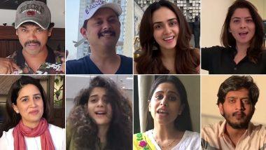 Tu Chal Pudha Song: Siddharth Jadhav, Swwapnil Joshi, Amruta Khanvilkar and Other Marathi Celebs Unite to Pay Ode to Unsung Heroes Fighting COVID-19 Crisis (Watch Video)