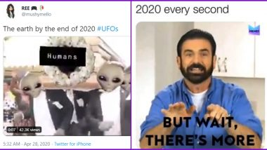 UFO and Alien Invasion Funny Memes Trend Online: Netizens Make Hilarious Jokes on 'What More in 2020?' After Pentagon Releases Video of UAP