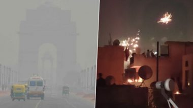 AQI in Delhi Slips Into 'Unhealthy' Category at 172, A Day After People Burst Firecrackers Amid '9 PM, 9 Minutes' 'Diya Jalaao' Appeal by PM Narendra Modi