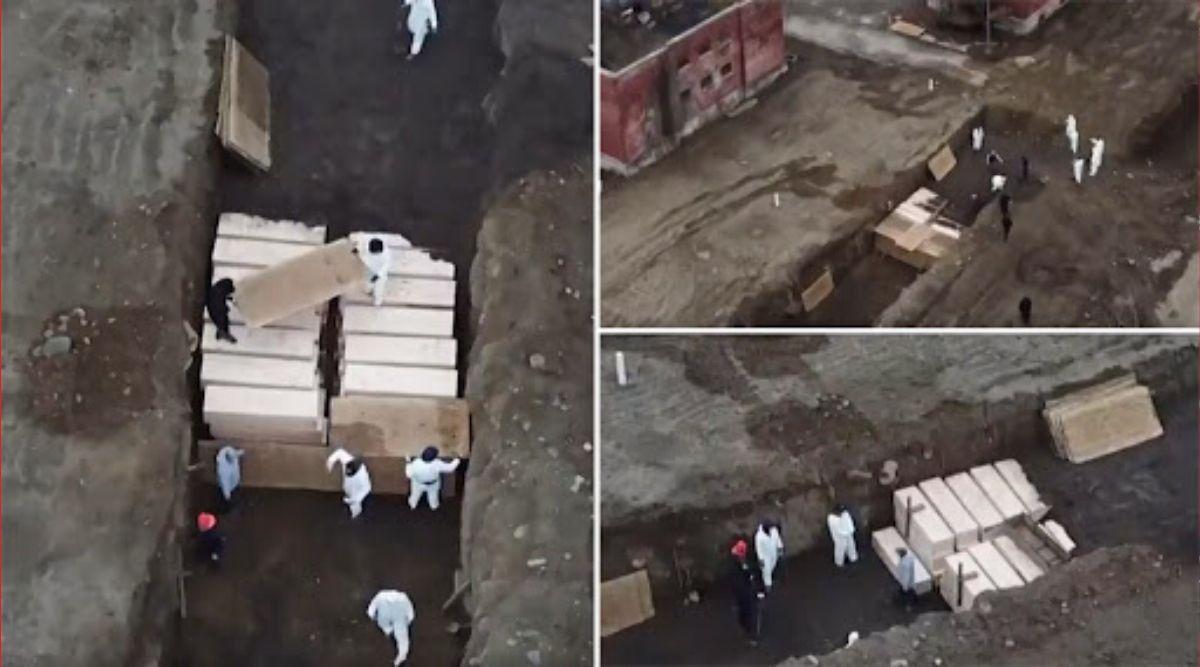 Hart Island in New York Hires Labourers to Bury Dead Bodies as Coronavirus Casualties Increase, Watch Tragic Video