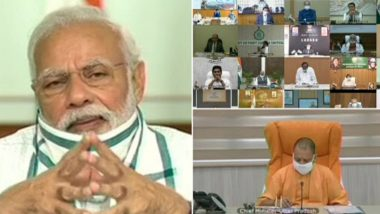 'India's Success in Handling COVID-19 Globally Recognised', Says PM Narendra Modi in Video-Conference With State CMs