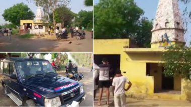 Two Priests Murdered at a Temple in UP's Bulandshahr, Accused Arrested; Police Suspect Revenge For Accused Being Scolded (Watch Video)