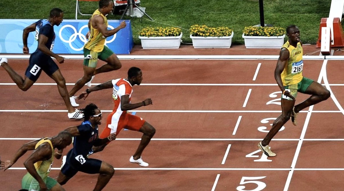 Usain Bolt Urges Fans to Practise Social Distancing Using ...