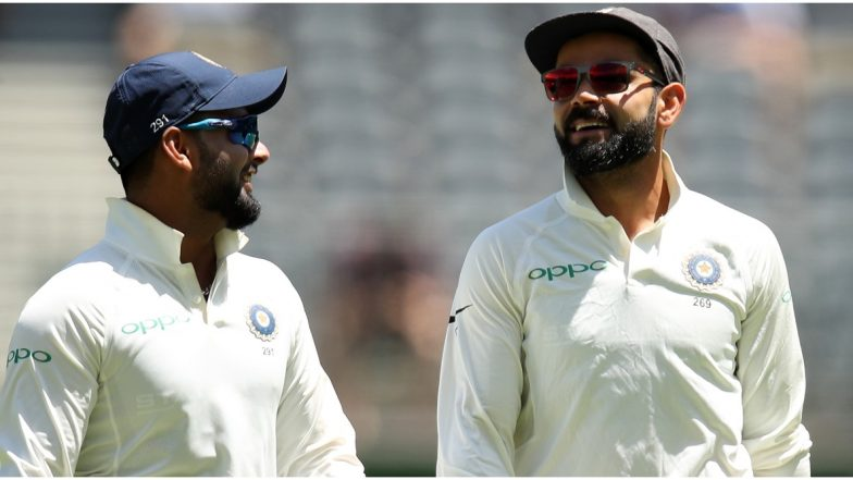 Rishabh Pant Pleads With Virat Kohli to Take His Name During Live Interview Session With Kevin Pietersen on Instagram