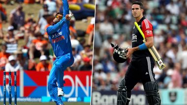 Virat Kohli's Bowling Record: Indian Cricket Team Captain Reminds Kevin Pietersen of His Rare Feat With the Ball in T20Is (Watch Video)