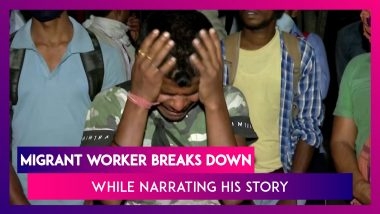 India Under Lockdown: Migrant Worker Breaks Down While Narrating His Sorrowful Story