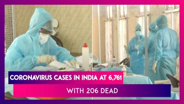 Coronavirus Numbers In India At 6,761 With 206 Deaths, Worldwide Death Toll Close To 1 Lakh