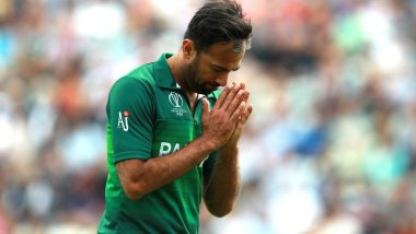 Wahab Riaz Requests Waqar Younis to 'Go Easy' on Him After Pakistan Bowling Coach Slams Him and Mohammad Amir for 'Ditching' National Team