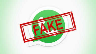 Government to Lodge FIRs Against Journalists of News Portals Not Registered With RNI? PIB Fact Check Debunks Viral WhatsApp Message