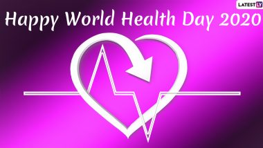 Happy World Health Day 2020 HD Images to Thank Coronavirus Healthcare Workers: WhatsApp Stickers, Messages, Greetings and SMS to Send on the WHO-Organised Day