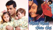 Karan Johar's Son Yash Finds Kuch Kuch Hota Hai 'Boring,' Are Shah Rukh Khan and Kajol Listening? (Watch Video)