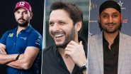 Shahid Afridi on Harbhajan Singh & Yuvraj Singh's Recent Statement, 'They Are Compelled to React'
