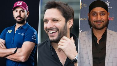 Twitter Divided After Yuvraj Singh & Harbhajan Singh Support Shahid Afridi for His Relief Work in Pakistan Amid Coronavirus Outbreak