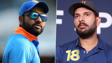 Yuvraj Singh Was My Cricket Crush, Reveals Rohit Sharma