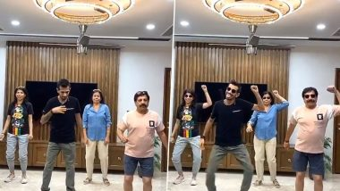 Yuzvendra Chahal, RCB Bowler, Displays Crazy Dance Moves With Family