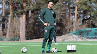 Zlatan Ibrahimovic, AC Milan Striker, Returns To Training With Partly-Owned Club Hammarby