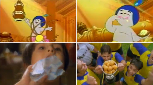 As Ramayana and Mahabharata Return to Doordarshan, Amul Brings Back Old '90s Ads Playing Tribute To These Shows (Watch Video)