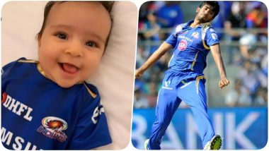 Rohit Sharma's Darling Daughter Samaira Imitates Jasprit Bumrah's Bowling Action, Mumbai Indians Shares the Adorable Video