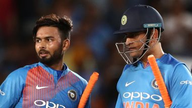 MS Dhoni vs Rishabh Pant Stats Comparison: Here's How the Two Wicket-Keeper Batsmen Fare Against Each Other After Specific Matches in Tests, ODIs and T20Is
