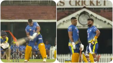 Chennai Super Kings Posts Unseen Video of MS Dhoni and Suresh Raina Hitting Tall Sixes During Practice Session, With No IPL 2020 Around Time for Fans to Relish Some Action