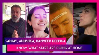 Sanjay Dutt Shares Workout Video, Anushka Sharma Shares Health Tips, Big B Appreciates Medical Staff