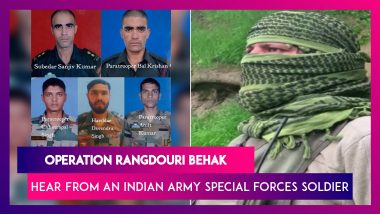 Operation Rangdouri Behak: Hear From An Indian Army Soldier About How The Special Forces Eliminated Five Terrorists In Kupwara