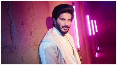 Dulquer Salmaan Reminds Fans to Wear Double Masks As He Shares a Throwback Picture From Salute Sets