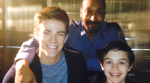 'The Flash' Grant Gustin Is Devastated To Know 16-Year-Old Logan Williams Is No More