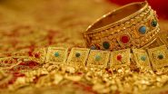 Gold Rates Today: Price of Yellow Metal Up at Rs 55,040 Per 10 Gram, Silver Rate Jumps to Rs 75,220 Per Kg