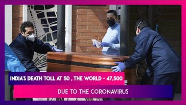 India's Coronavirus Tally At 1965, With 50 Dead While Worldwide Death Toll Reaches 47,500