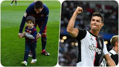 Lionel Messi's Son Thiago Talks About Cristiano Ronaldo, Kylian Mbappe & Others, Argentine Says, 'Thiago Is Very Demanding When It Comes to My Performances'