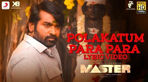 Master Song Polakatum Para Para Lyric: This Upbeat Anirudh Ravichander Composition Featuring Vijay And Vijay Sethupathi Is Really Addictive (Watch Video)
