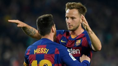 Lionel Messi Ignored Ivan Rakitic At the Start of Barcelona vs Leganes, La Liga 2019-20 Match; Video Goes Viral