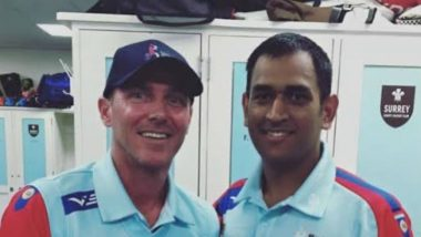 'MS Dhoni Got Us Over the Line', Damien Martyn Shares Old Photo With Former India Captain on Twitter