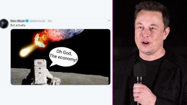 Elon Musk Hints at Coming 'Doomsday on Earth' With 'Oh God, the Economy' Comment? Latest Tweet by SpaceX CEO Sparks Meme-Fest and Reactions