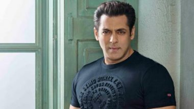 Salman Khan to Script a Romantic Drama and to Produce it Under His Home Banner?