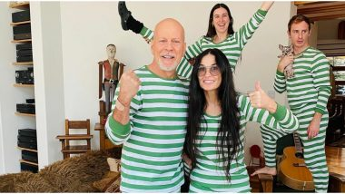 Exes Bruce Willis and Demi Moore Have Their Quarantine Well-Spent With Their Kids Via 'Family Book Club'