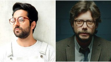 Ayushmann Khurrana Tells Filmmakers That He Wants to Play the Role of Álvaro Morte aka The Professor from Money Heist! (Watch Video)